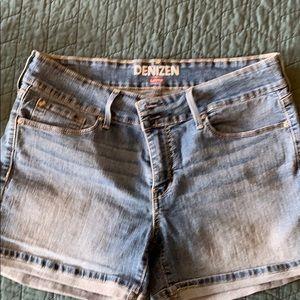 Denizen Denim Stretch Shorts